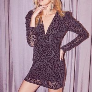Lush • The Perfect Cocktail Leopard Jacquard Dress